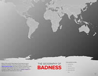 Geography of Badness