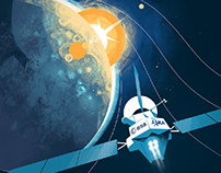 Arianespace official poster  A journey to Mercury
