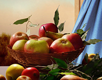 Photo-realistic Painting: Still Life