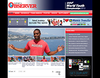 IAAF World Youth Championships - Jamaica Observer Site