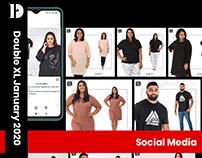 Double XL | Social Media | January 2020