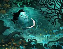 Dreams in witch house. Autoportrait