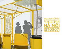 Hanoi Bus Stop Design (Proposal)