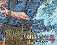 UNCHARTED 4 ComicART