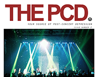 THE PCD {tabloid cover layout design}