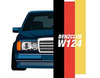 Mercedes W124 E500