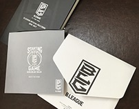 B.LEAGUE Invitation & Official Rule Book Designs