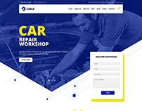 Carle - Car Service and Shop PSD Template