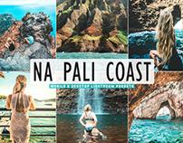 Free Na Pali Coast Mobile & Desktop Lightroom Presets