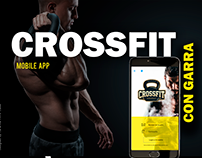 Crossfit APP UX/UI Design