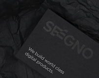 Seegno / Letterpress Business Card