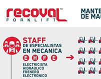 Infografía Problem/Solución - Mantenimiento Montacarga