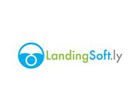 LandingSoft.ly Logo Design