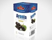 Packaging design for Aronia KORO TEA