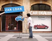 Bank Audi - Car loan radio