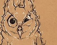 Disapproving Owl