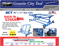 Granite City Tool Sept-Oct Fabrication Flyer 2016