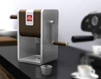 Illy Manual Coffee Grinder