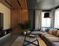 Photorealistic Livingroom 3D Visualization