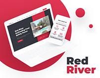 Red River Fence - Pool Safety Equipment Website Design