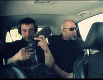 Honda CR-V recording on wheels