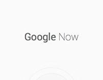 Google Now Concept