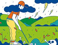Golf magazine USA
