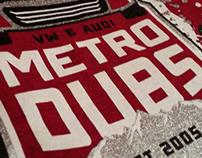 Metro Dubs 2013 logo design