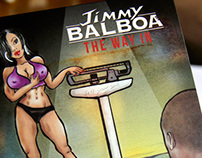 Jimmy Balboa CD cover illustration