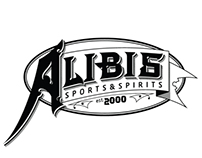 Alibis Sports&Spirits Sign/Logo
