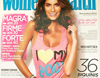 Estampa Camilla Salles para Revista Women's Health