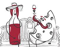 Wine illustrations
