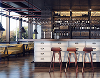 Cabinet Cafe concept