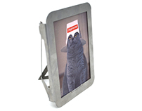 Kitty photo frame