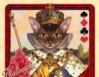 Cats Royale - Playing cards