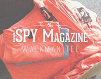 PAKMODE // iSPY Magazine Walkman Tee