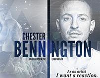 Chester Bennington - Linkin Park Memorial Graphic