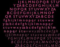 Hot Pink Alphabet
