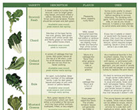 Real Food Magazine - Charts