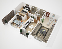 Plan Floor 3D