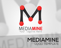 MEDIAMINE Logo Template Project