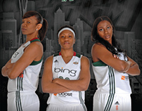 Seattle Storm: 2013 Media Guide Cover