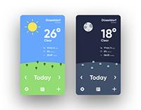 Daily UI No. 37 | Weather Freebie