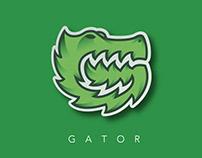 G - Gator. Logo Branding.