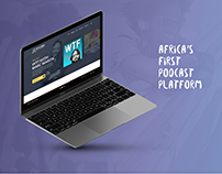 Afripods - Web App
