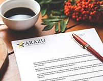Arazu Branding Process and Final Product