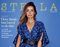 Louise Redknapp for Stella Magazine by Rachell Smith