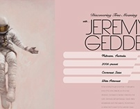 Jeremy Geddes Magazine Spreads