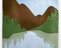 Lake Louise Tote & Pillow