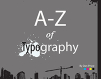 A-Z Typography book